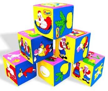 Кубики мягкие: Сказки – Мякиши