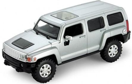 Модель машины Hummer H3 - Welly