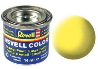 Краска для моделей желтая матовая №15 - Revell