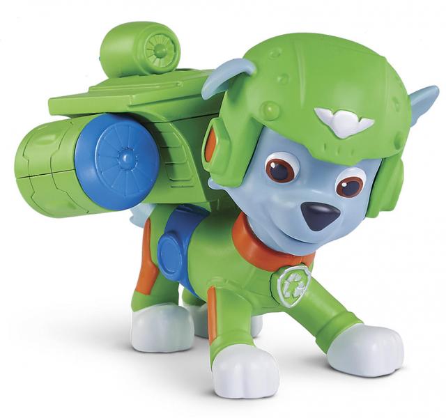 Paw Patrol: фигурка спасателя - воздушные спасатели Рокки