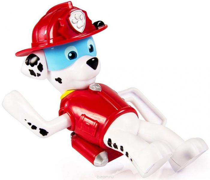 Paw Patrol: Игрушка для ванной, заводная - Маршал