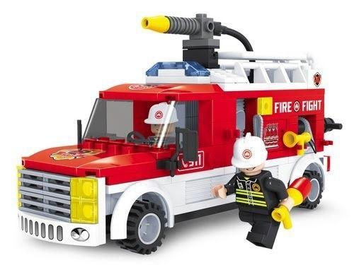Конструктор Пожарная бригада, 210 элементов – Ausini