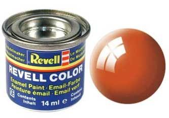 Краска для моделей оранжевая глянцевая №30 - Revell