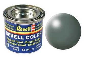 Краска для моделей папоротниково-зеленая шелково-матовая № 360 - Revell