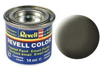 Краска для моделей оливково-зеленая шелково-матовая №361 - Revell