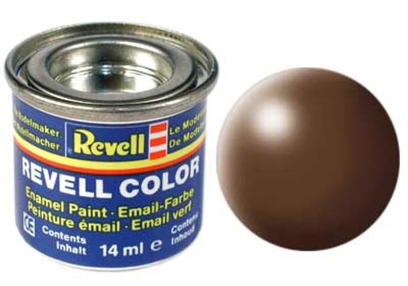 Краска для моделей коричневая шелково-матовая №381 - Revell