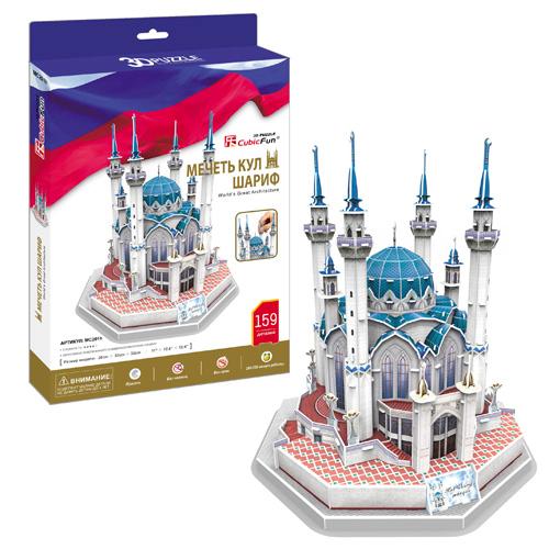 3D пазл: Мечеть Кул Шариф - CubicFun