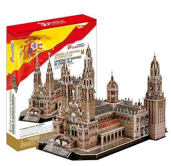 3D пазл: Собор Святого Иакова – CubicFun