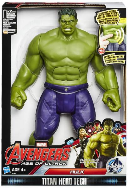 Marvel: Фигурка Халк, интерактивная - Hasbro