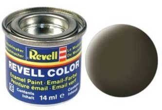 Краска для моделей черно-зеленая матовая №40 - Revell