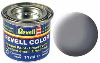 Краска для моделей мышино-серая матовая №47 - Revell