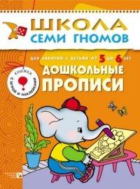 ШСГ: 6 год обучения: Дошкольные прописи - Мозаика-Синтез