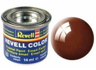 Краска для моделей коричневая глянцевая №80 - Revell