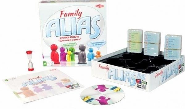 Настольная игра: Элиас Скажи иначе для всей семьи - Tactic