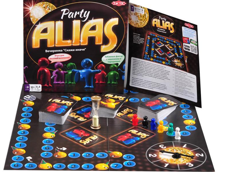 Настольная игра: Элиас Скажи иначе, Вечеринка 2 (Alias Party) - Tactic