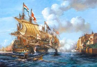 Пазл: Битва за Порто Белло, 2000 элементов - Castorland