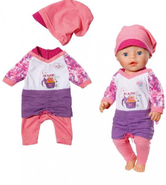 Baby Born: Модная Одежда для пупса 43 см - Zapf Creation