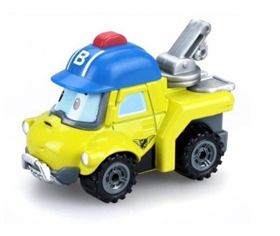 Робокар Поли: Металлическая машинка Баки 6 см.,- Silverlit