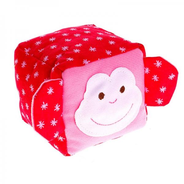 Кубик мягкий: ЗооМякиши. Обезьянка - Мякиши