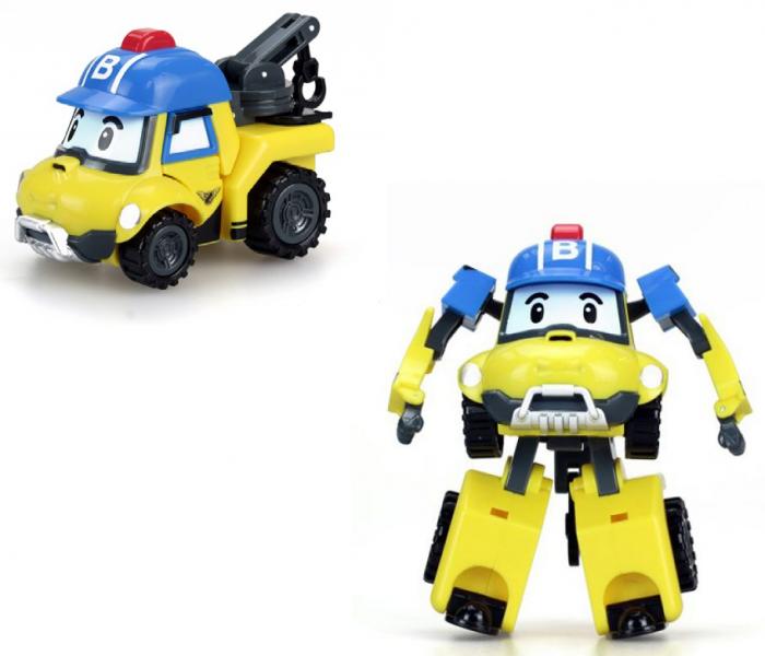 Робокар Поли: Трансформер Баки 10 см.- Silverlit