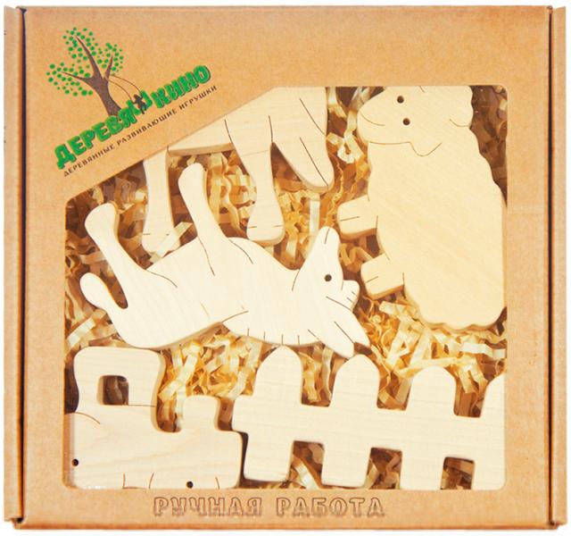 Набор деревянных фигурок Ферма 2- Деревяшкино