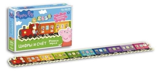 Настольная игра Peppa Pig: Цифры и счет - Origami