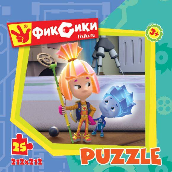Пазл: Фиксики Шарик, 25 элементов - Origami Puzzle