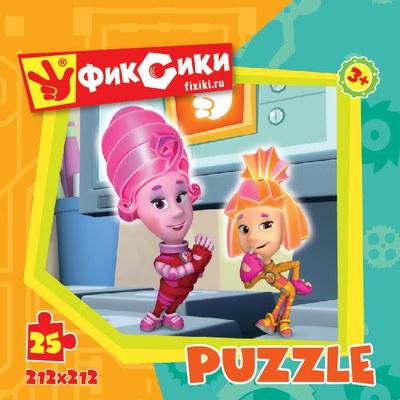 Пазл: Фиксики Монитор, 25 элементов - Origami Puzzle