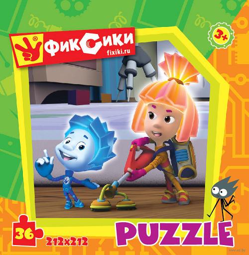 Пазл: Фиксики Полотер, 36 элементов - Origami Puzzle