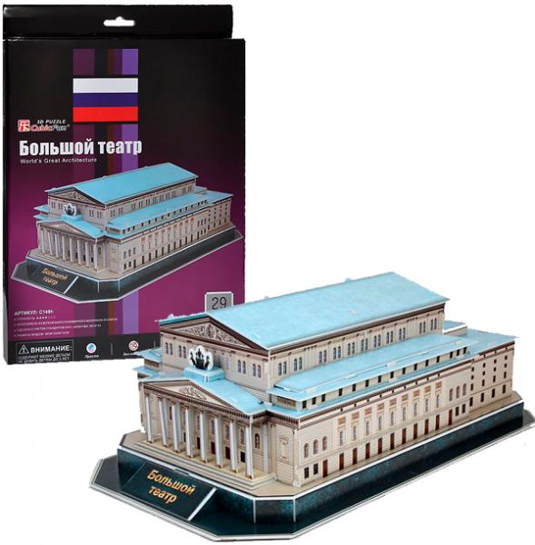 3D пазл: Большой Театр (мини-серия) - CubicFun