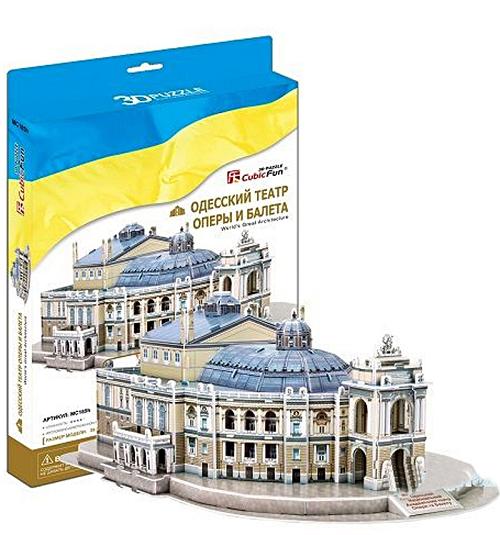 3D пазл: Одесский театр оперы и балета - CubicFun