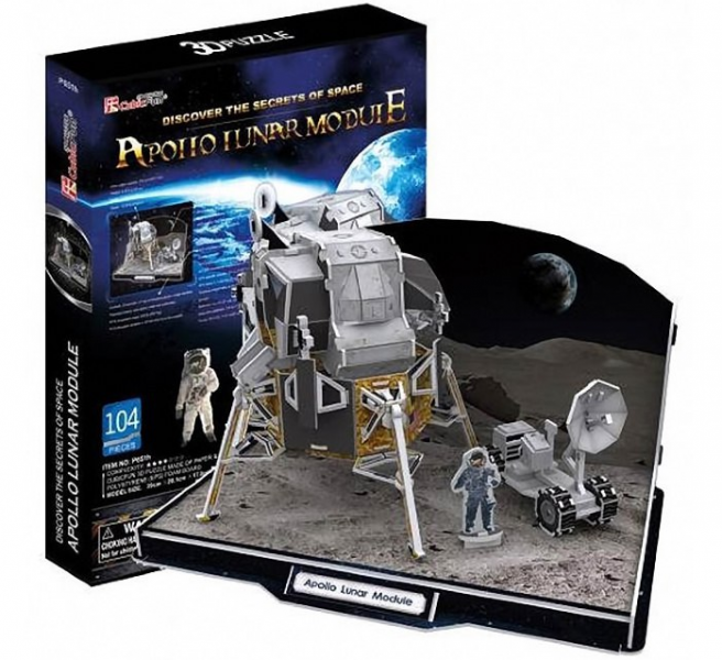 3D пазл: Лунный модуль корабля