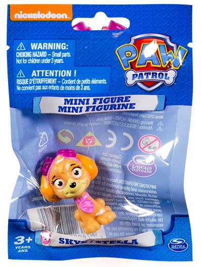 16634 Paw Patrol   Минифигурка щенка ( в мягкой упаковке) Скай