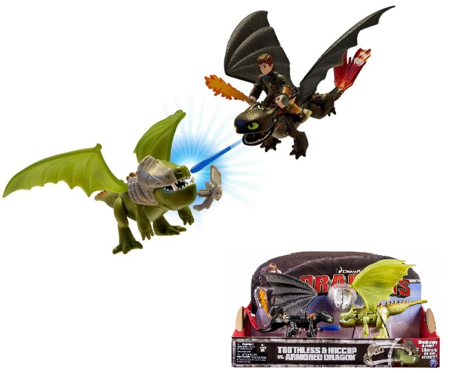 Dragons: Беззубик и Иккинг против дракона – Spin master