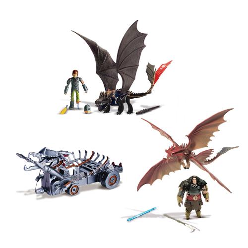 Dragons: Игровой набор Битва на Драконовой горе - Spin Master