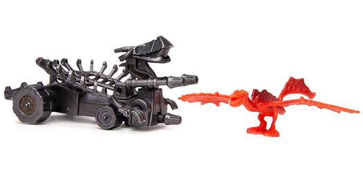 Dragons: Набор для битв. Ужасное Чудовище против щипцов - Spin Master