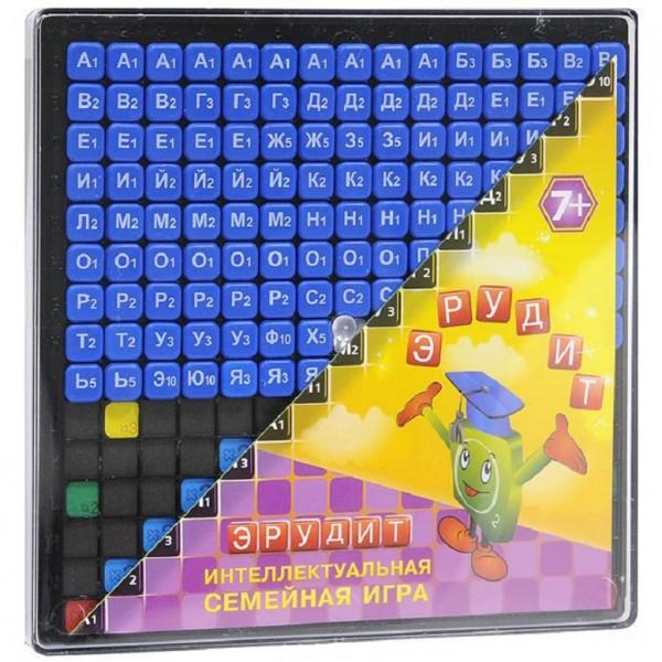 Настольная игра: Эрудит, синие фишки - Биплант