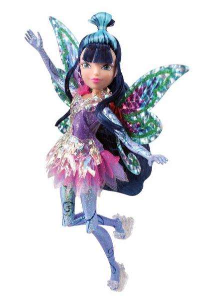 ВИНКС: Кукла Тайникс Муза - Rainbow