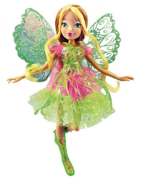 ВИНКС: Кукла Баттерфликс-2 Флора - Rainbow