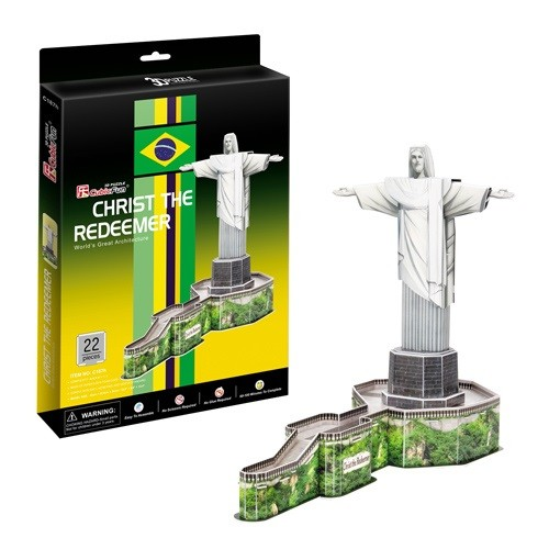 3D пазл: Статуя Христа Искупителя - CubicFun
