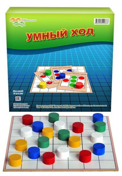 Игра развивающая: Умный ход - Световид