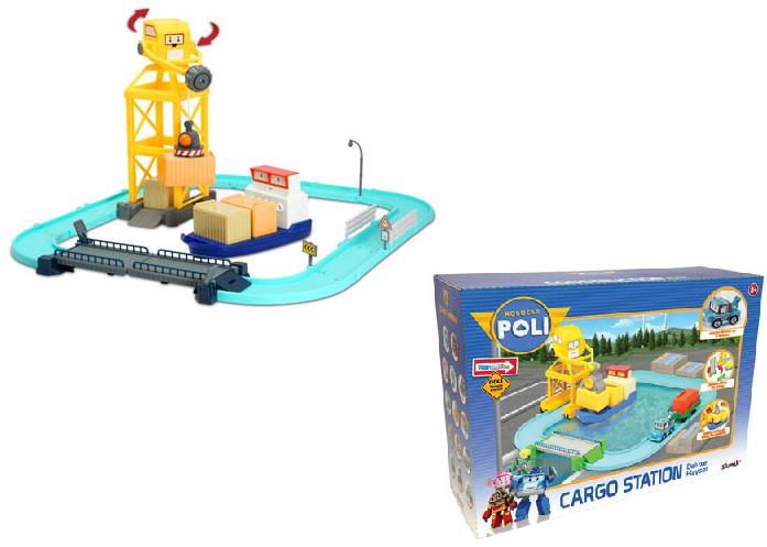 Робокар Поли: Набор Порт с разводным мостом, с Терри в комплекте - Silverlit