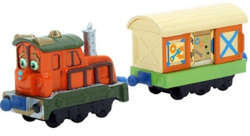 Chuggington: Паровозик  Калли с прицепом, Die-cast-Tomy