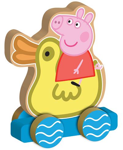 Свинка Пеппа: Каталка Пеппа на уточке (Веселое путешествие) - Росмэн