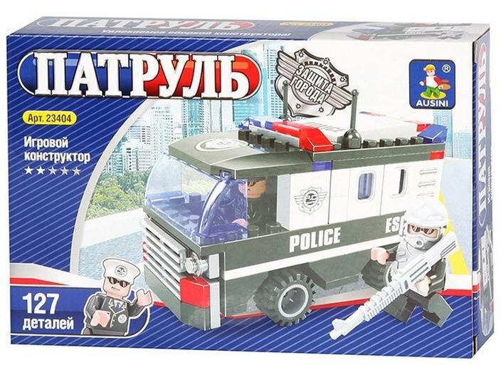 Конструктор Патруль (Полиция), 127 элементов – Ausini