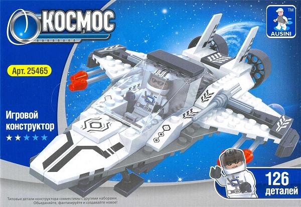 Конструктор Космос, 126 элементов – Ausini
