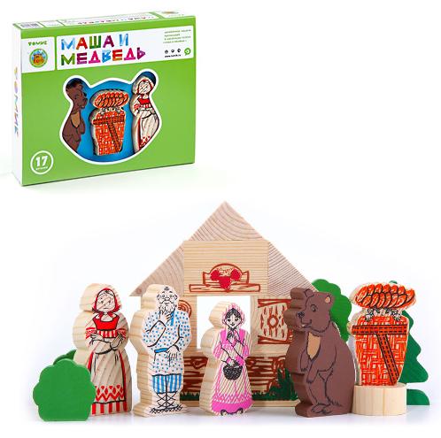 Конструктор-сказка: Маша и медведь - Томик