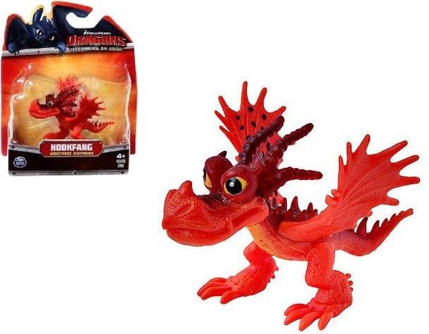Dragons: маленькая фигурка дракона Кривоклык (Hookfang) - Spin Master