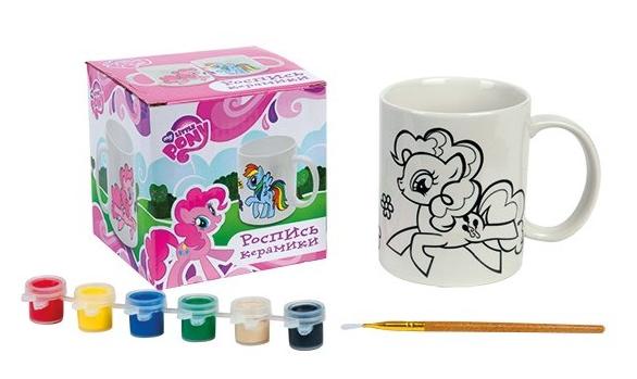 Роспись по керамике: Кружка Моя маленькая Пони - Играем вместе