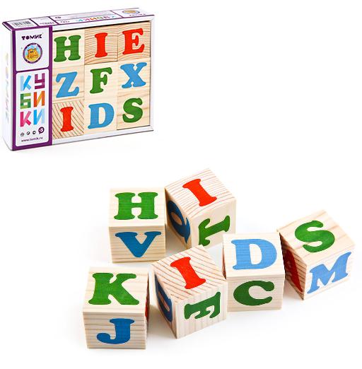 Кубики: Английский алфавит - Томик